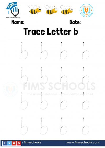 Fims Trace Letter b- 6-1
